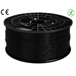 Filament ABS imprimante 3D  NOIR 1.75mm