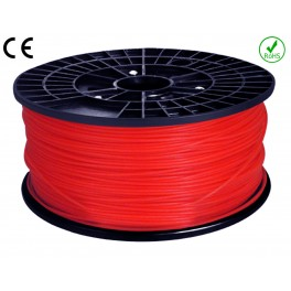 Fil - Filament ABS imprimante  3D  ROUGE 1.75mm 1KG