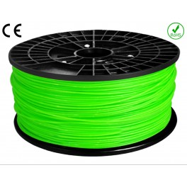 Filament ABS imprimante 3D  VERT CLAIR 1.75mm