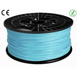 Filament ABS imprimante 3D  BLEU CIEL 1.75mm