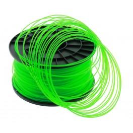 Filament PLA imprimante 3D  VERT TRANSPARENT 1.75mm